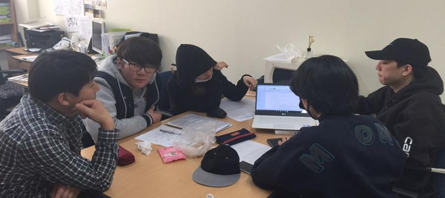 """호서대학교 사회복지학과 공모전동아리 """"드림팀"""" 사진"""